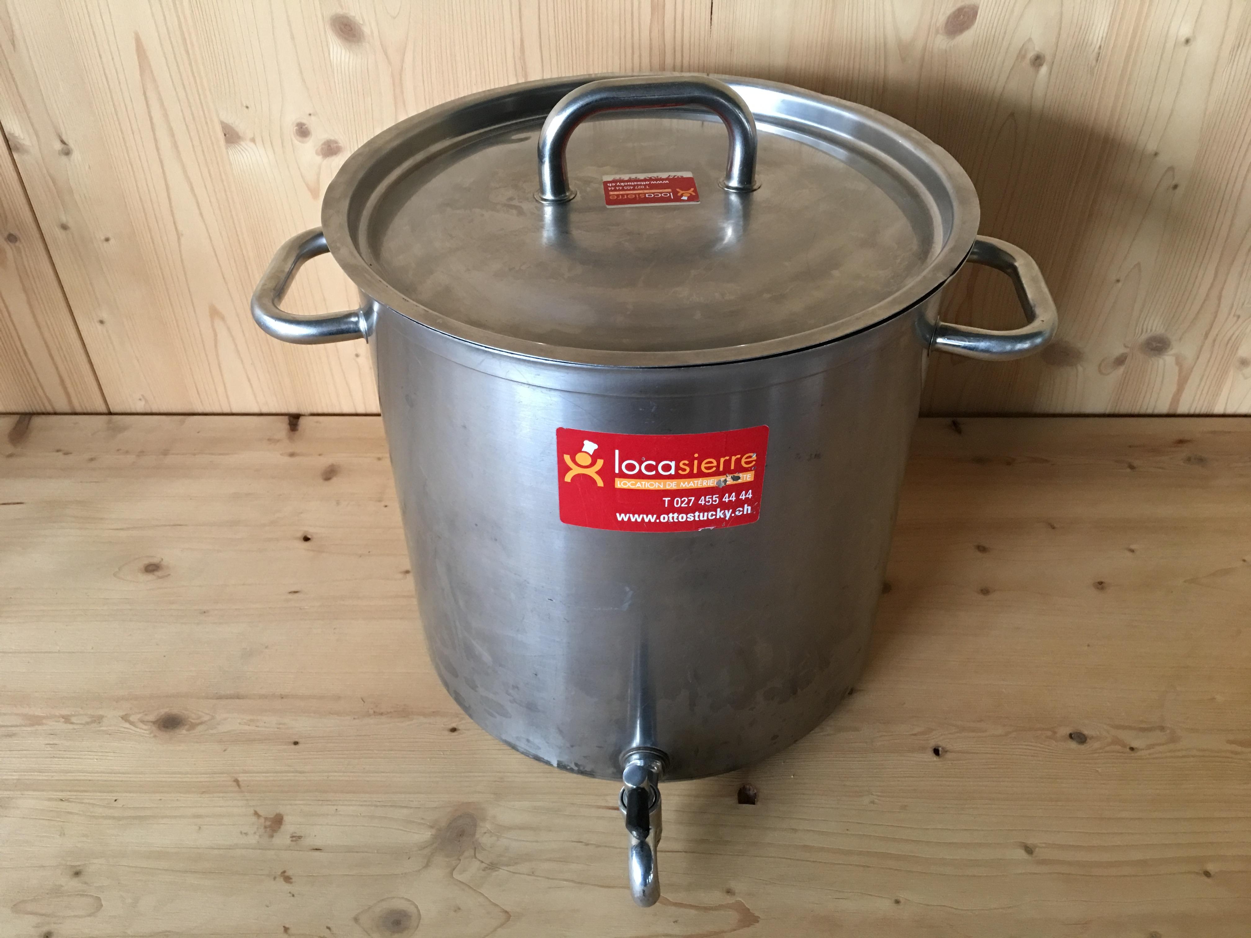Topf 20 Liter Mit Hahn Und Deckel Locasierre